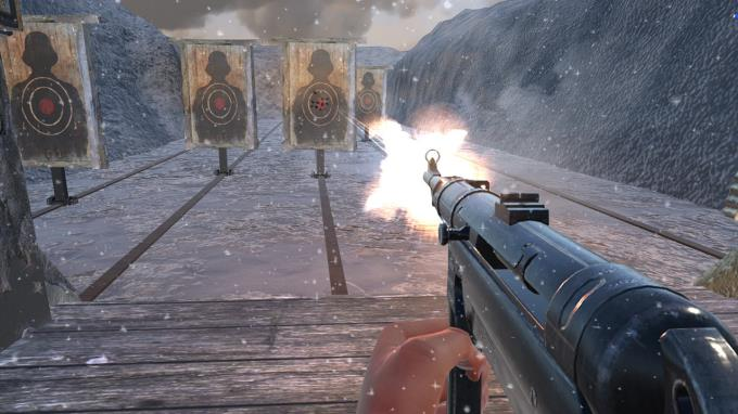 2. Dünya Savaşı Kış Silah Menzili VR Simülatörü Torrent İndir