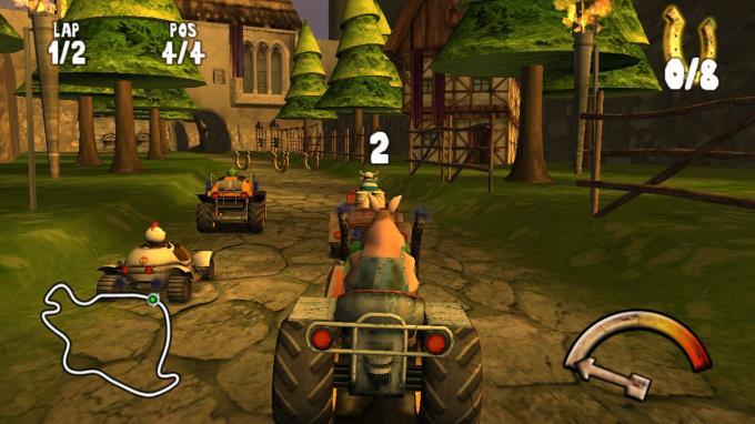 Calvin Tucker's Farm Animal Racing PC Crack