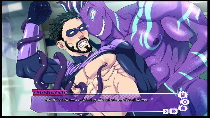 Mister Çok Yönlü: Bir Eşcinsel Süper Kahraman Görsel Roman PC Crack