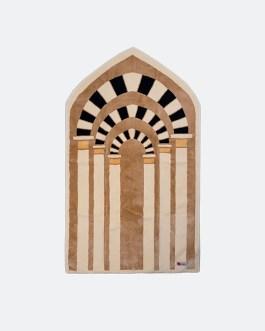 Prophet Mosque Arches Prayer Mat