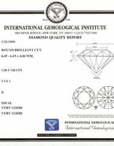 Cut grade diamond report also reports rh igionline