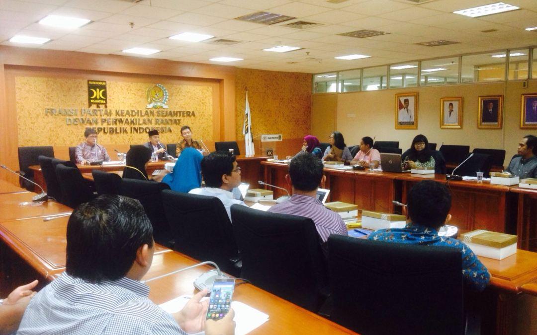 Indonesian Civil Societies Urges Prosperous Justice Party (PKS) to Reject TPP