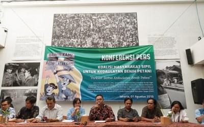 Rilis Media Koalisi Kedaulatan Benih Petani