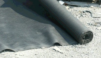 Non-woven geotextile fabric
