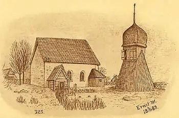 J. W. A. YLLANDERS DAGBOK 1889:  Augusti D. 3 L.