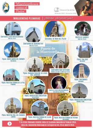 Dónde peregrinar en la diócesis de Mar del Plata