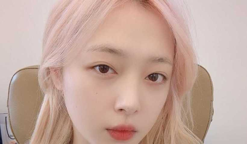 Sulli's Instagram Live Stream from August 14th 2019.