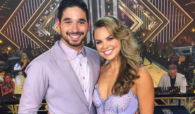 Hannah Brown's Instagram Live Stream with her partner Alan Bersten from September 30th 2019. Alan & Hannah answer fan questions on live at DWTS Backstage.