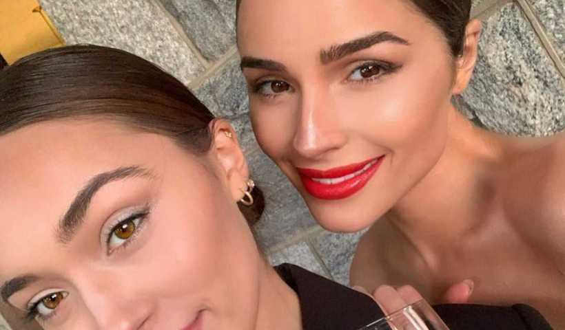 Olivia Culpo's Instagram Live Stream from October 5th 2019. She is Goes Live with Her Sister Sophia on Instagram While Getting Ready For a Wedding.