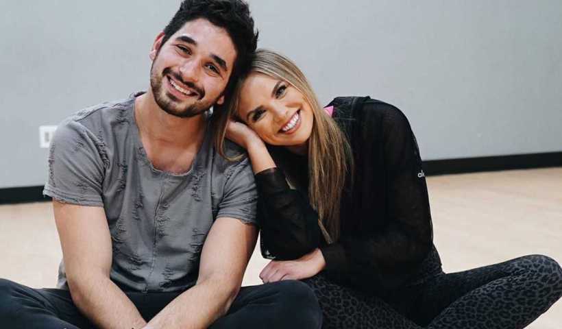 Hannah Brown's Instagram Live Stream with her partner Alan Bersten from November 3rd 2019.