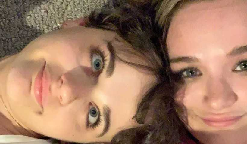 Joey King's Instagram Live Stream with her sister Hunter from November 6th 2019.