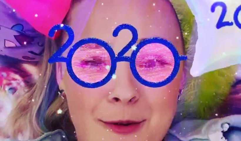 Jojo Siwa's Instagram Live Stream from December 31th 2019.