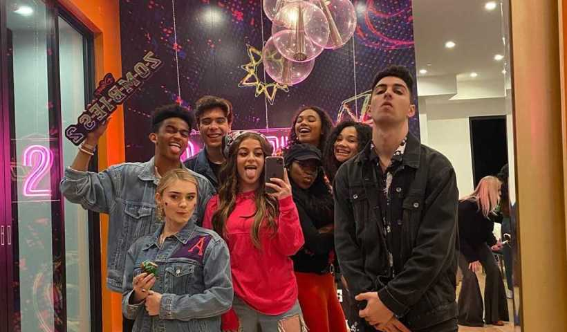 Baby Ariel's Instagram Live Stream with ZOMBIES2 Cast from February 14th 2020.