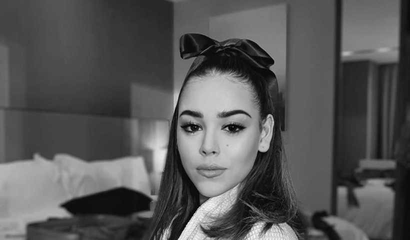 Danna Paola's Instagram Live Stream from February 16th 2020.