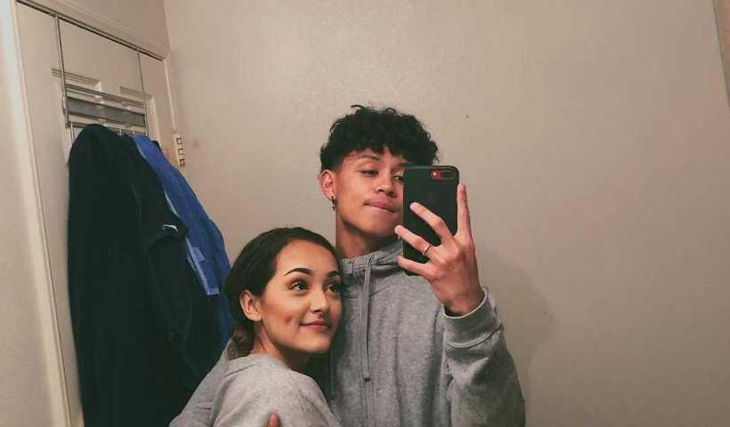 Hailey Orona's Instagram Live Stream with her boyfriend Brandon Westenberg from February 11th 2020.