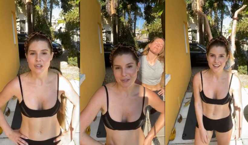 Amanda Cerny's Instagram Live Stream from March 30th 2020.