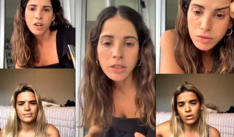 Cande Molfese | Instagram Live Stream | 25 March 2020