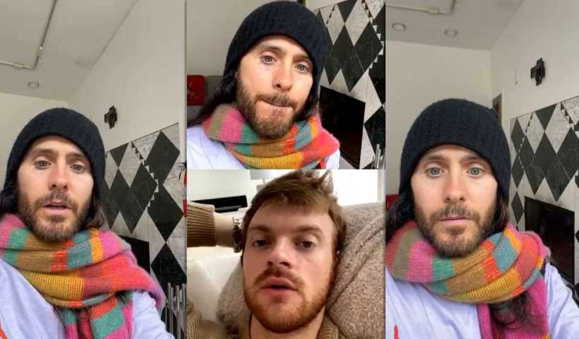 Jared Leto's Instagram Live Stream from March 24th 2020.