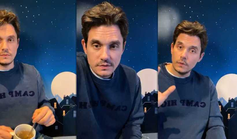 John Mayer's Instagram Live Stream from March 17th 2020.