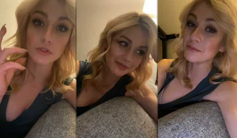 Katherine McNamara's Instagram Live Stream from March 27th 2020.