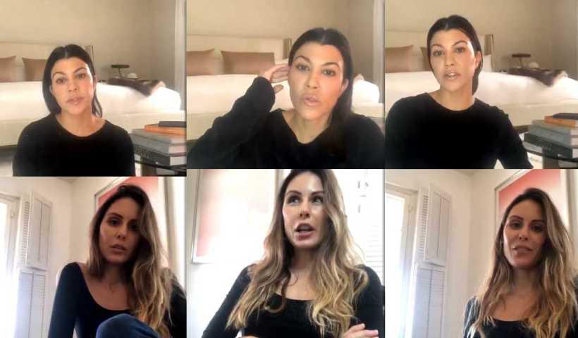 Kourtney Kardashian | Instagram Live Stream | 25 March 2020