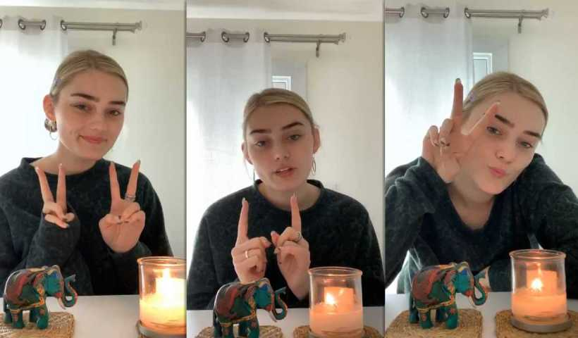 Meg Donnelly's Instagram Live Stream from March 20th 2020.