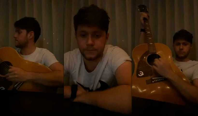 Niall Horan's Instagram Live Stream from March 30th 2020.
