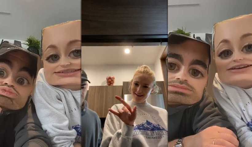 Sophie Turner's Instagram Live Stream with Joe Jonas from March 20th 2020.