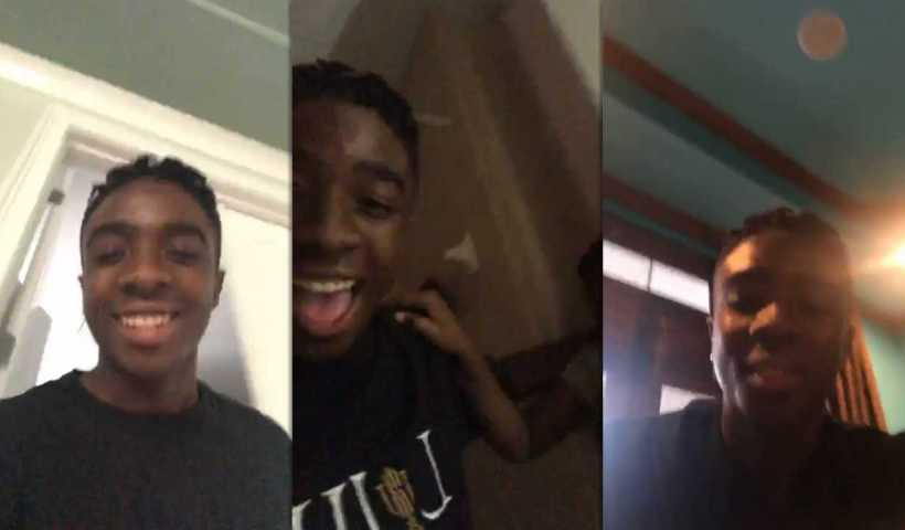 Caleb McLaughlin's Instagram Live Stream from March 24th 2020.