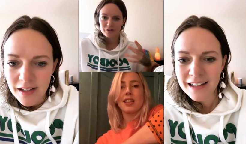 Tove Lo's Instagram Live Stream from March 28th 2020.