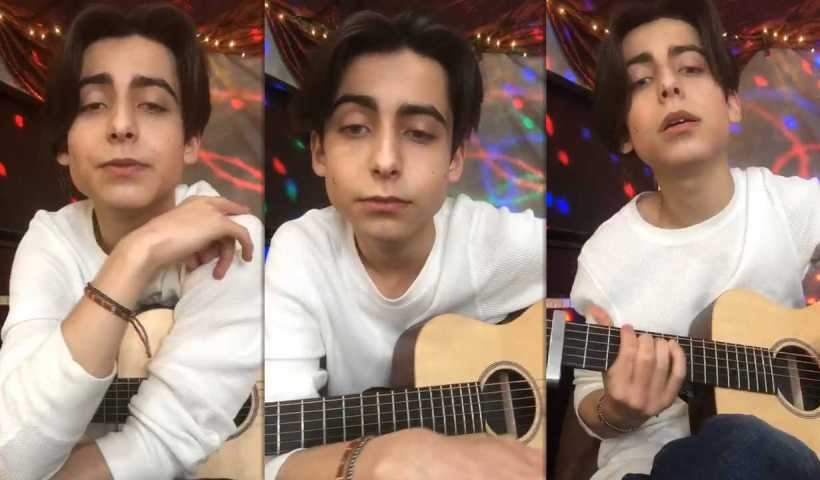 Aidan Gallagher's Instagram Live Stream from April 5th 2020.