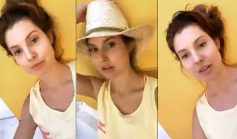 Amanda Cerny's Instagram Live Stream from April 2nd 2020.