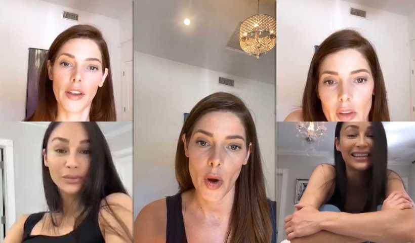 Ashley Greene's Instagram Live Stream from April 15th 2020.