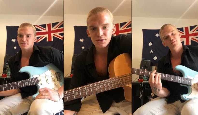 Cody Simpson's Instagram Live Stream from April 8th 2020.