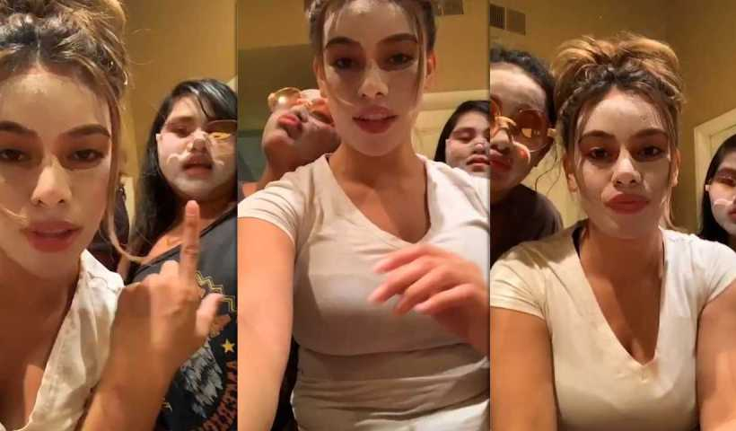 Dinah Jane's Instagram Live Stream from April 27th 2020.