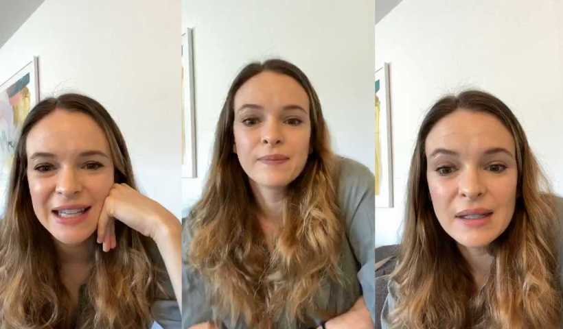 Danielle Panabaker's Instagram Live Stream from April 21th 2020.