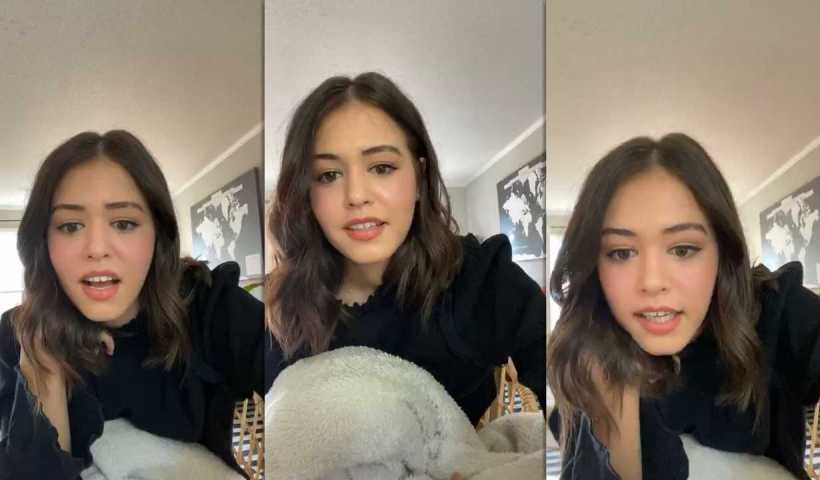 Kaylee Bryant's Instagram Live Stream from April 5th 2020.