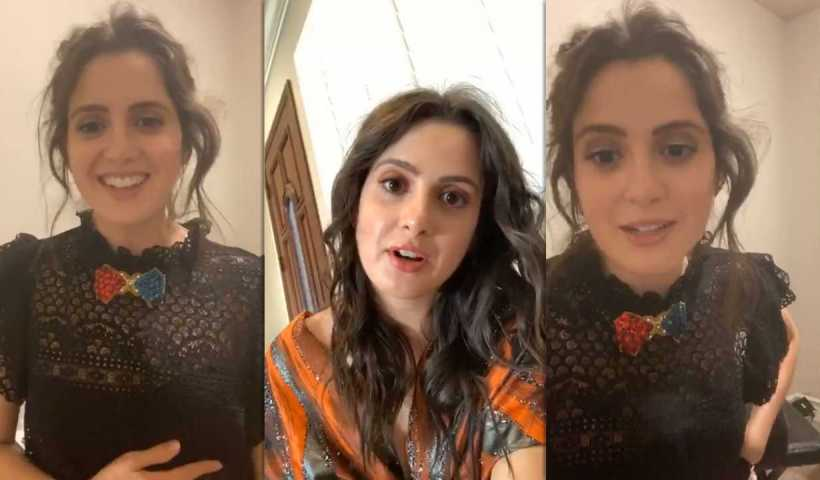 Laura Marano's Instagram Live Stream from April 3rd 2020.