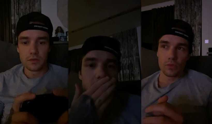 Liam Payne's Instagram Live Stream from April 23th 2020.