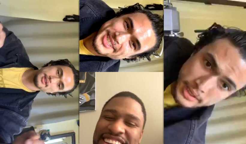 Charles Melton's Instagram Live Stream from April 13th 2020.