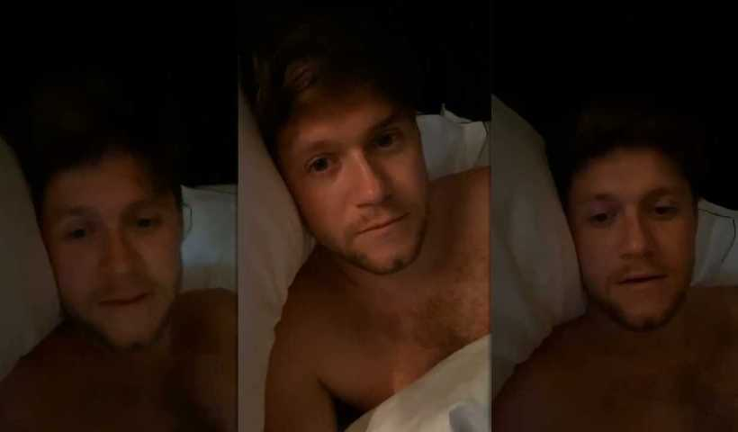 Niall Horan's Instagram Live Stream from April 15th 2020.