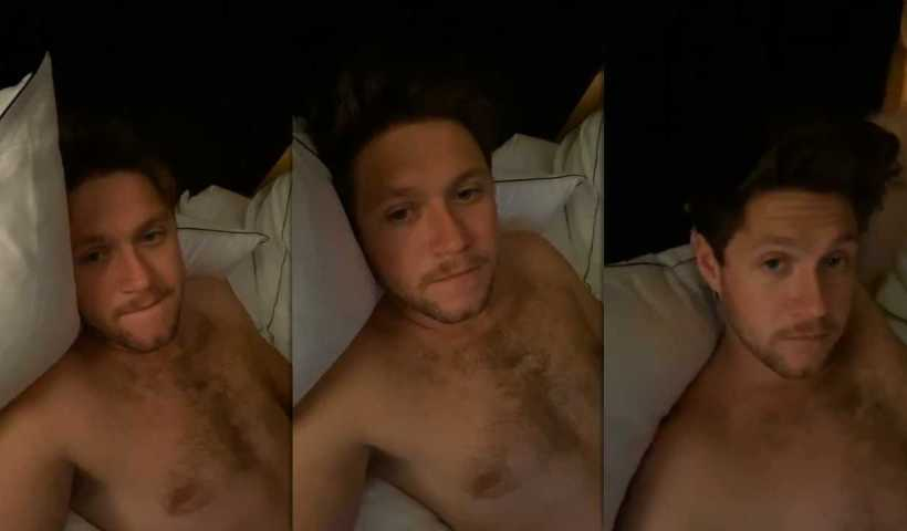 Niall Horan's Instagram Live Stream from April 27th 2020.