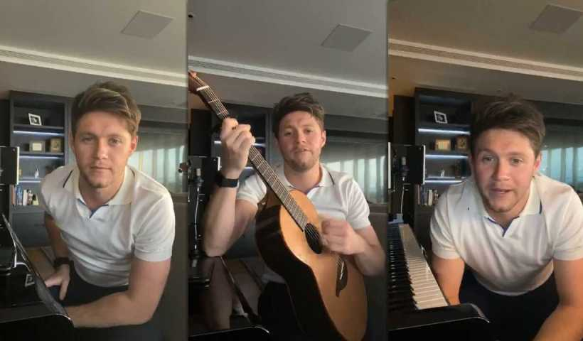 Niall Horan's Instagram Live Stream from April 9th 2020.