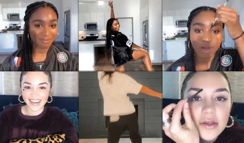 Normani Kordei's Instagram Live Stream from April 11th 2020.