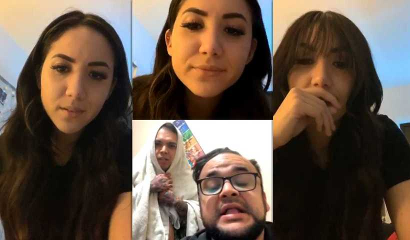 Carolina Díaz's Instagram Live Stream from April 15th 2020.