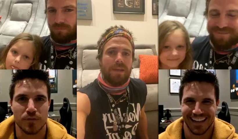 Stephen Amell's Instagram Live Stream with his brother Robbie Amell from April 28th 2020.