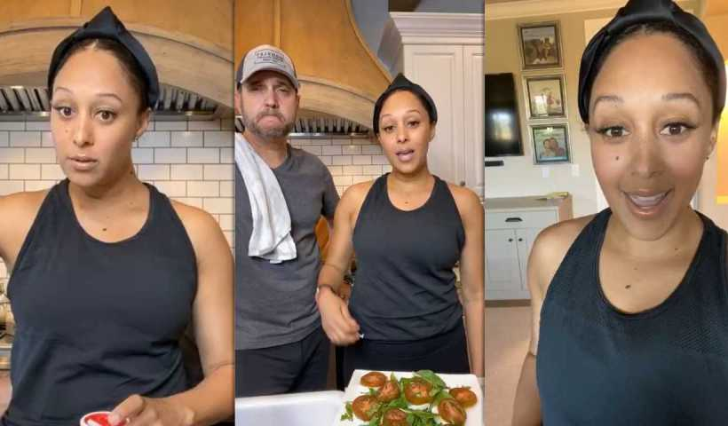 Tamera Mowry's Instagram Live Stream from April 13th 2020.