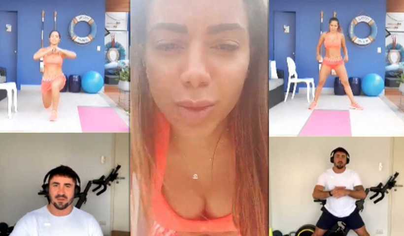 Anitta's Instagram Live Stream from May 2nd 2020.