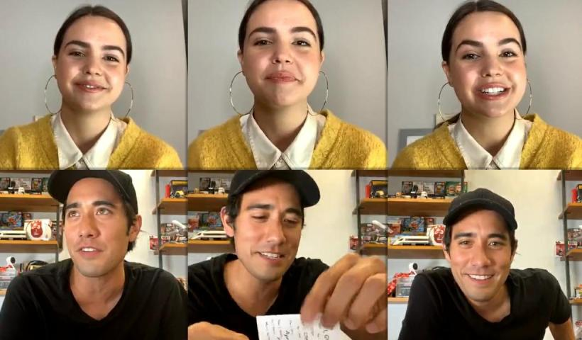 Bailee Madison's Instagram Live Stream with Zach King from May 12th 2020.