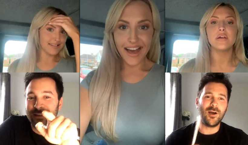 Emma Louise Jones Instagram Live Stream from May 17th 2020.